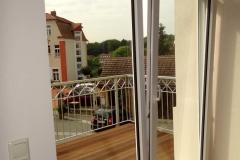Ferienwohnung Bautzen Natürlich - Balkon